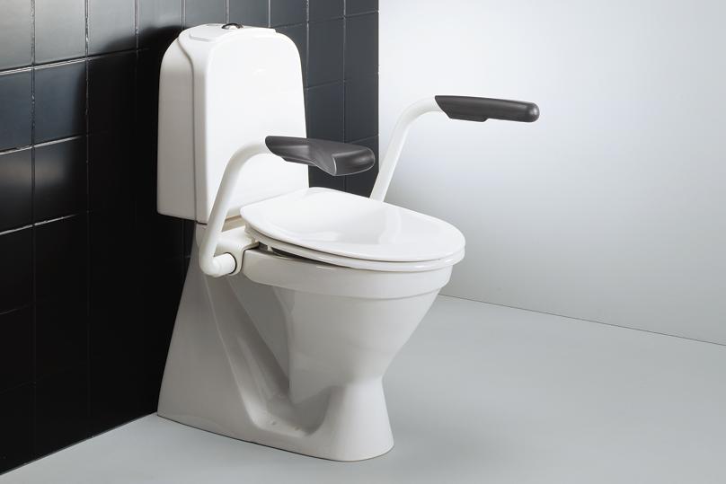 Armstøtte til montering på toalett