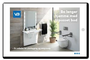 Bo lenger hjemme med tilpasset bad Forside