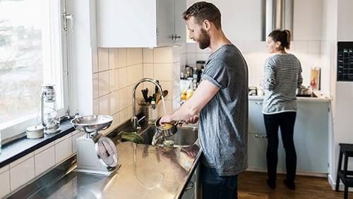 Våtromskrav til kjøkkenet